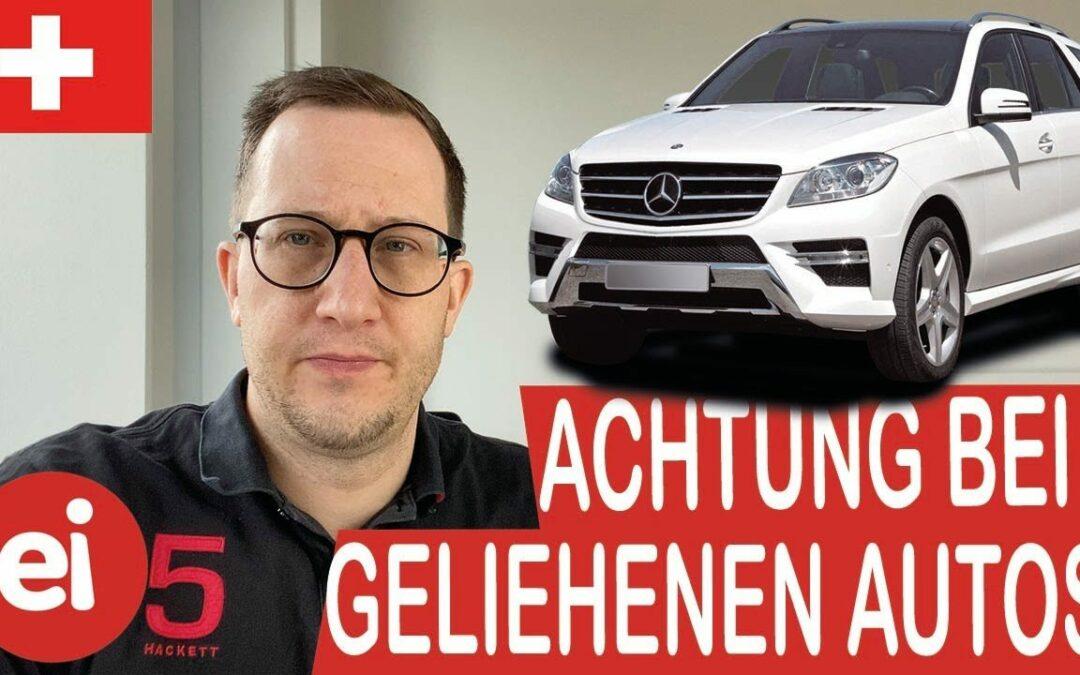 VIDEO: Fahren von fremden Autos– Achtung du bist nicht versichert!