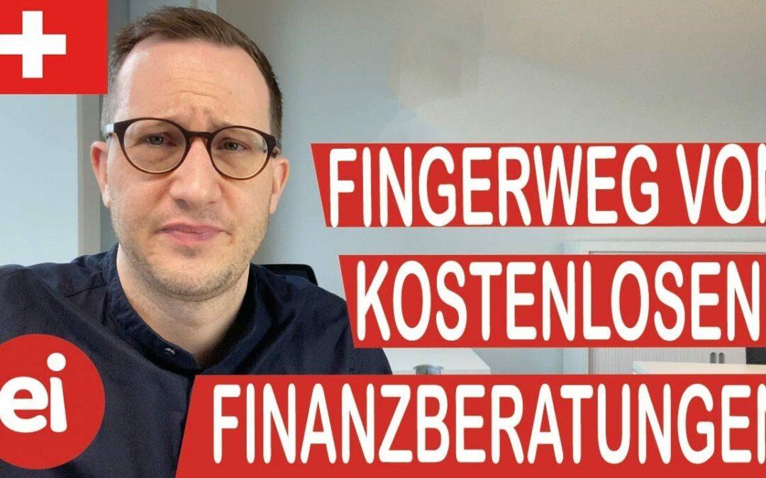 VIDEO: Es gibt KEINE kostenlose Finanzberatung!